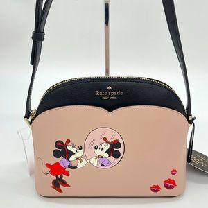 Kate Spade Minnie Mouse Dome Crossbody Bag